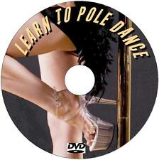 LEARN THE ART OF POLE DANCING VIDEO DVD STRENGTH FITNESS STAMINA WEIGHT LOSS NEW