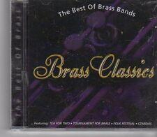(FX824) Brass Classics, The Best Of Brass bands - 2001 CD