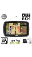 Tomtom Pro 5250 Truck HGV Lorry GPS Sat Nav FREE Lifetime UK & Europe Maps