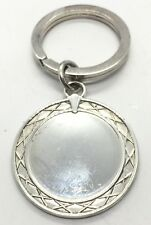 Great Sterling Silver 925 Waterford Key Chain Ring And Tag