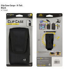 NITE IZE NYLON TALL HOLSTER & CLIP fits MOST SMART CELL PHONES NOKIA MOTOROLA