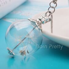 Handmade Pendant For Necklace Glass Ball DIY Pendant Necklace Jewelry