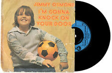 """JIMMY OSMOND - I'M GONNA KNOCK ON YOUR DOOR (RED CROSS) 7""""45 RECORD PIC SLV 1974"""