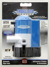 SHORELINE MARINE AUTOMATIC FLOAT SWITCH BILGE PUMP 800 GPH-3028 L/Hr