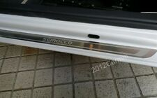 Stainless Door Sill Scuff Plate Guards for Scirocco MK3 2 Door 09 10 11 12 2013