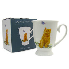 Fine China Royal Mug by Leonardo MacNeil Cats Ginger New Boxed