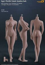 1/6 PHICEN Super Flexible Female Seamless Steel Skeleton Body Figure Suntan S12D