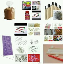 Terracotta Jewellery making tools kit ( 38 pieces ) for beginners,All your needs