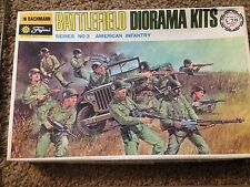 Bachmann/Fujimi/Mokei 1/76 American Infantry (Early Issue, Battlefield Diorama)