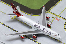 "GEMINI JET VIRGIN ATLANTIC 747-400 ""RUBY TUESDAY"" 1:400 SCALE"