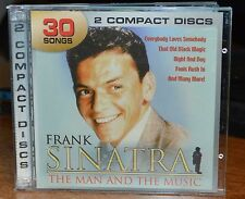 FRANK SINATRA - The Man The Music 2 CD 30 Track set BOTHS CDS ARE MINT COMPLETE