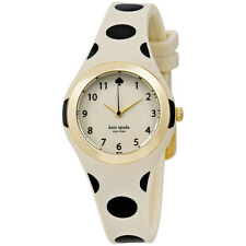 Kate Spade Rumsey Beige Dial Polka Dot Ladies Watch 1YRU0611