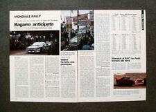 [GCG] AN67 - Clipping-Ritaglio -1983- VIGILIA DEL SANREMO , MERCATO PILOTI