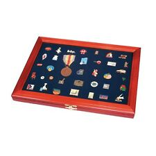 Wooden Display Case for Medals, Decorations & Pins