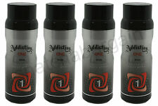 4 x ADDICTION ONE DEODORISING BODY SPRAY FOR MEN 150ml