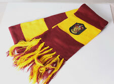 Harry Potter Gryffindor Thicken Wool Knit Scarf Wrap Soft Warm yellow-brown