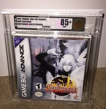 Castlevania: Aria of Sorrow VGA 85+ GOLD! MINT & RARE! Nintendo Game Boy Advance