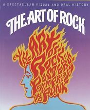 The Art of Rock: Posters from Presley to Punk, Grushkin, Paul, Very Good Book