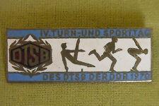 DDR Abzeichen - DTSB - IV. Turn- und Sporttag des DTSB der DDR - 1970