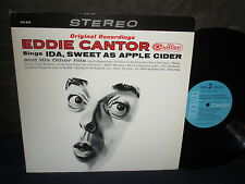 "Eddie Cantor sings ""Ida, Sweet as Apple Cider, and His Other Hits"" LP"