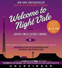Welcome to Night Vale by Jeffrey Cranor and Joseph Fink (2017, CD, Unabridged)