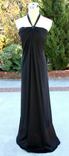 NWT Max and Cleo $168 Black Formal Evening Party Gown 8