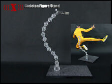 "1/6 scale KELETON Action Figure Body Stand fit 12"" bruce lee kung fu figure"