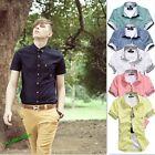 New Men's Luxury Casual Slim Fit Solid Color Dress Shirts M,L,XL,XXL,XXXL