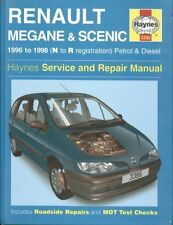 "Renault Megane/COUPE SCENIC 1.4 1.6 2.0 gasolina 1.9 Diesel"" 96-98 Repair Manual"
