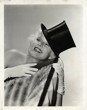 JEAN HARLOW / BOMBSHELL (1933) Vtg orig dbl wt cheesecake photo by Clarence Bull