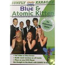 Sunfly Karaoke DVD Blue Atomic Kitten - Full Video / Blue Options - All Region