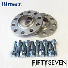 Bimecc 20mm Hubcentric Wheel Spacers & Wheel Bolts BMW X4 F26 14-