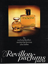 PUBLICITE ADVERTISING  1969   REVILLON  parfums DETCHEMA