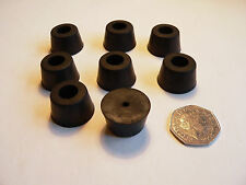 Medium Rubber Feet x 24 pcs for PA Club Guitar Loudspeaker or Amplifier Cabinet
