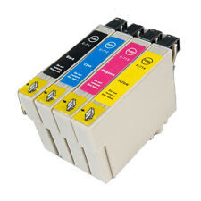 4 T0715 non-OEM Ink Cartridges For Epson T0711-14 Stylus DX5000 DX5050 DX6000