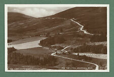 C1930'S RP POSTCARD  THE TOMINTOUL GRANTOWN ROAD - MORAY