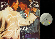 LP- David Bowie And Mick Jagger ‎– Dancing In The Street  // MAXI