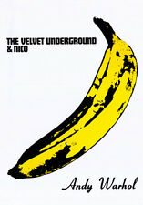 POP ART PRINT Velvet Underground and Nico Banana Andy Warhol