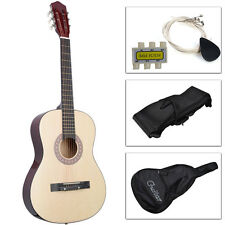 Acoustic Guitar W/ Guitar Case, Strap, Tuner and Pick for New Beginners Bei