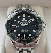 Omega Seamaster Co-Axial Automatic Ceramic Bezel Blue Dial