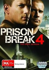Prison Break : Season 4 (DVD, 2009, 7-Disc Set)