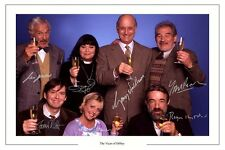 THE VICAR OF DIBLEY CAST AUTOGRAPH SIGNED PHOTO PRINT DAWN FRENCH ETC