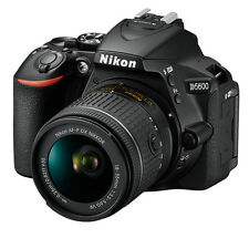 Nikon D5600 AF-P 18-55 VR KIT with 8gb Card, Case & 2 Years Mft Warranty (SMP2)