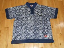 Vintage 90's Nike GEORGETOWN HOYAS Mens NCAA Warm Up Shooting JERSEY XXL IVERSON