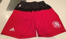 NBA Toronto Raptors Pre Game Training Shorts Basketball XXL Adidas w/Pockets