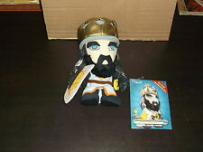 2004 MONTY PYTHON HOLY GRAIL KING ARTHUR CHIBI PLUSH FIGURE DOLL TOY VAULT