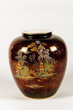 Art Deco Crown Devon fieldings oriental lustre vase