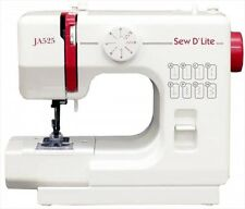 "NEW Official ""JANOME"" compact electric sewing machine (sew D`Lite)JA525 Japan"
