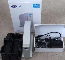 LaCie d2 9000443 USB 3.0 Desktop professional Hard Drive storage (4TB)