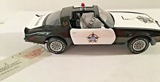 FRANKLIN MINT 1977 F.O.P. PONTIAC TRANS AM POLICE VEHICLE 1:24 DIECAST SCALE MIB